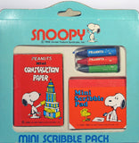 Snoopy Mini Scribble Pack