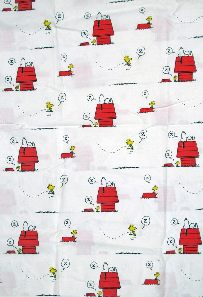 Peanuts Gang Fitted Sheet - Snoopy's Doghouse (Full Size)