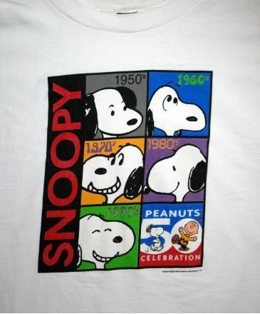 Snoopy Decades T-Shirt