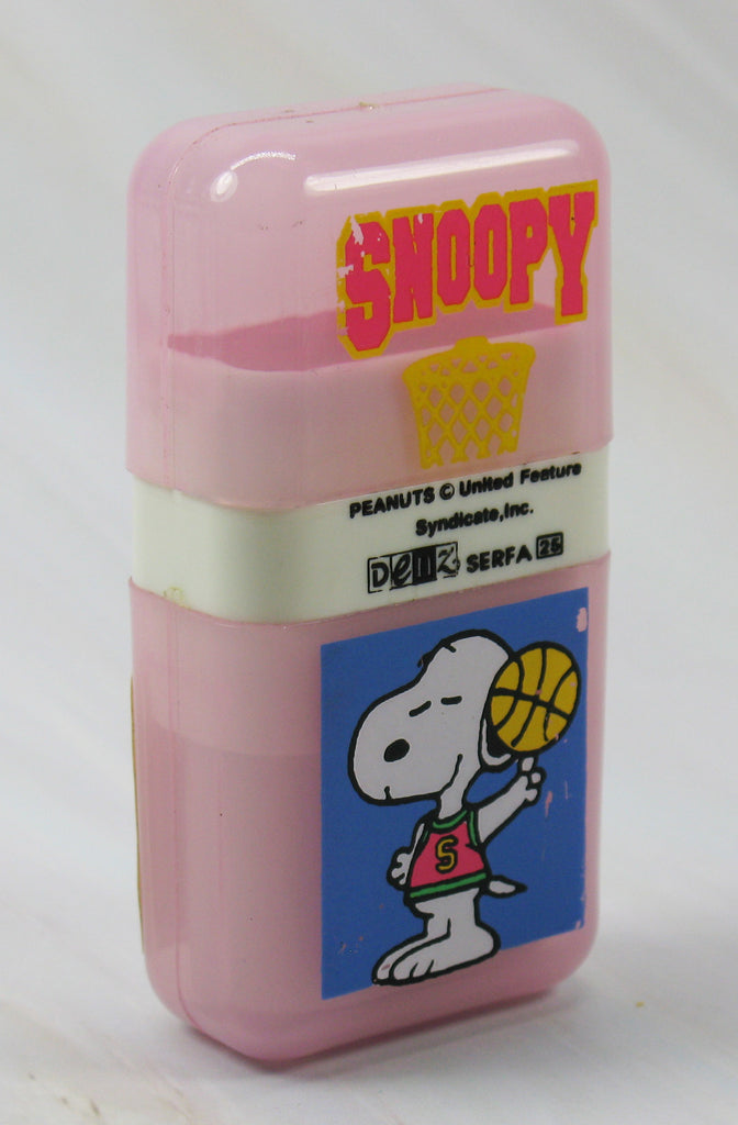 Snoopy Ink Stamp and Eraser Combo