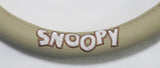 Snoopy Genuine Leather Steering Wheel Cover