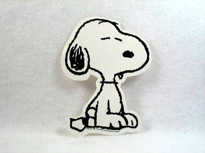 Snoopy Vinyl Sticker