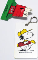 Snoopy Golf Bag or Luggage Tag