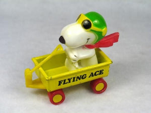 Flying Ace in metal wagon
