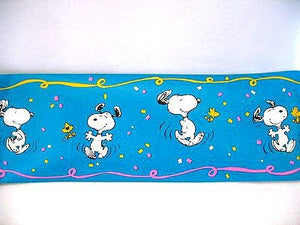 Dancing Snoopy Wallpaper Border