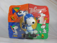 Snoopy Baseball Player Candy Box + PVC