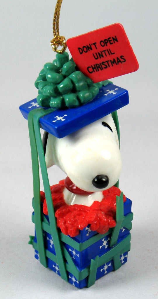 Danbury Mint Christmas Ornament - Snoopy