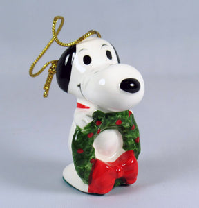 1975 Snoopy's Christmas Wreath Christmas Ornament