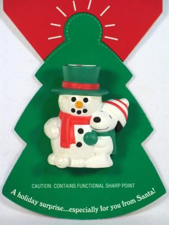 Snoopy Holiday 2-D Pin With Pop-Up Woodstock