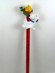 Snoopy and Woodstock in Nest PVC Pencil