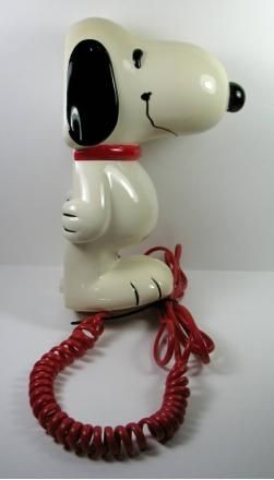 Snoopy Real Telephone