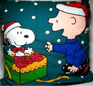 Charlie Brown Christmas Pillow