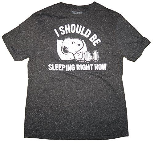 Snoopy T-Shirt - I Should Be Sleeping