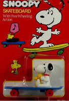 Snoopy and Woodstock on Skateboard