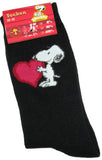 Snoopy's Heart Crew-Length Socks - ON SALE!