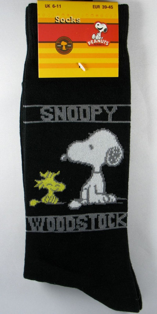 Men's Dress Socks - Snoopy and Woodstock