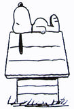 Snoopy's Doghouse Rubber Stamp