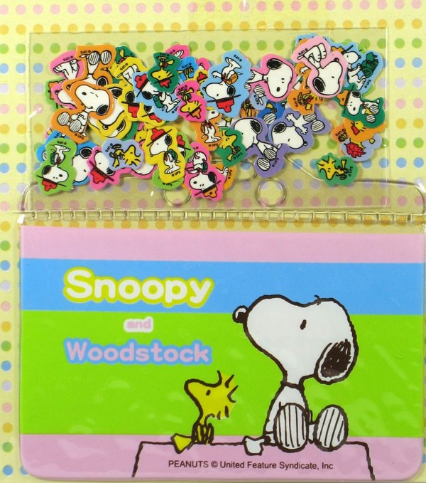 Snoopy and Friends Mini Sticker and Card Holder Set