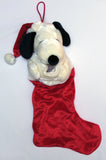 SNOOPY SANTA PLUSH CHRISTMAS STOCKING