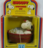 Snoopy in Bath Tub Friction-Powered Toy