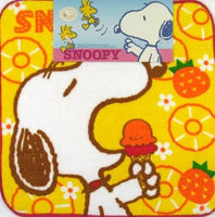 Wash Cloth - Snoopy Eating Ice Cream