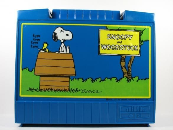 Snoopy and Woodstock Lunch Box