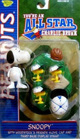 Snoopy & Woodstock Figures - All Star Memory Lane (Blue Uniform)
