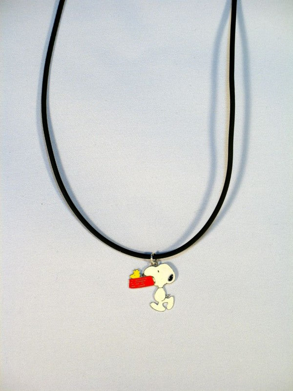 Snoopy's Dog Dish Necklace