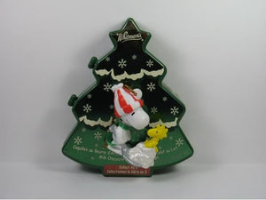 Christmas Tree Candy Box with Snoopy PVC Ornament