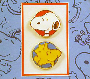 Snoopy and Woodstock Pin Set
