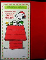 Snoopy Christmas Riddle Christmas Cards