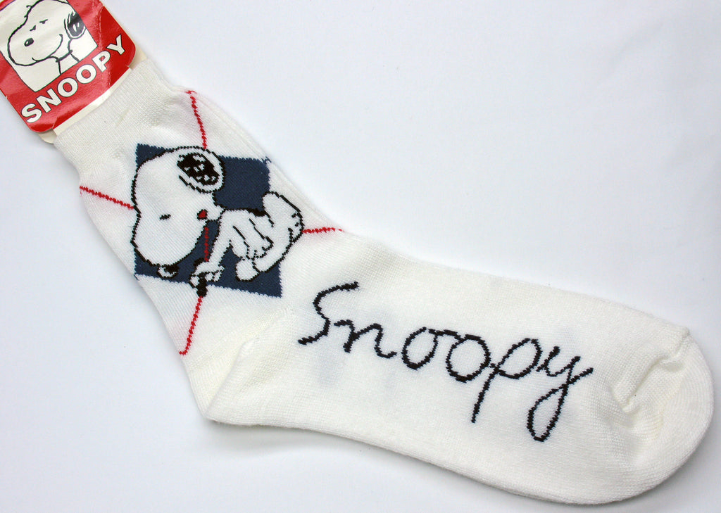 Snoopy Crew-Length Socks