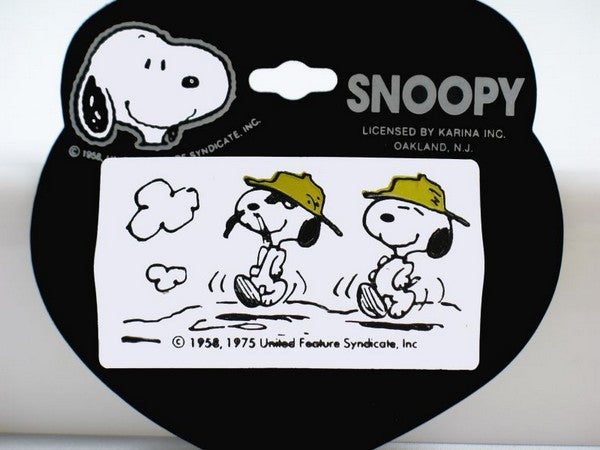 Spike and Snoopy Hair Clip
