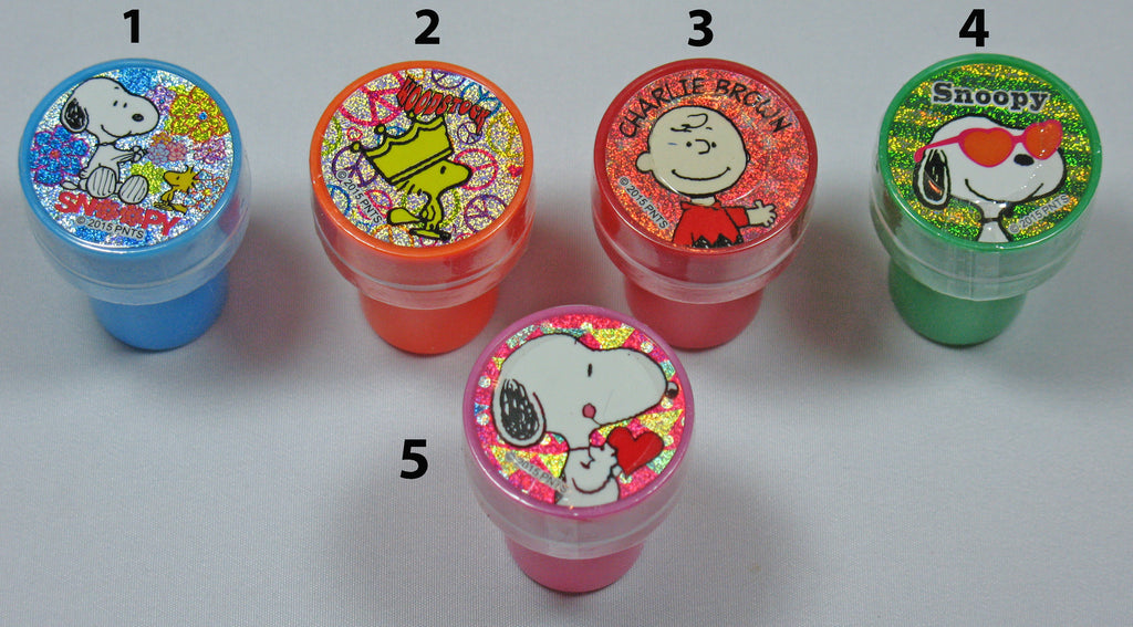 Peanuts Mini Stamp With Ink Pad