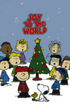 Peanuts Gang Christmas Stick-Eez 2-D Cling