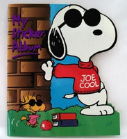 Joe Cool Reusable Sticker Album