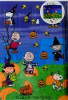 Peanuts Gang Halloween Create-A-Scene / Window Clings