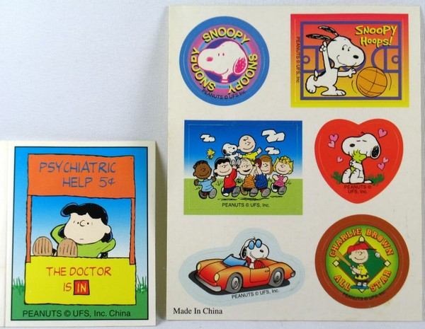 Peanuts Sticker Set