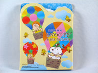 Snoopy Die-Cut Sticky Notes - Hot Air Balloon