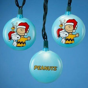 Charlie Brown and Snoopy Christmas Light Set