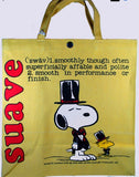 Snoopy and Woodstock Vintage Tote Bag - Suave