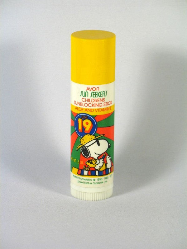 Snoopy Sunblocking Stick SPF 19