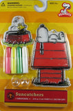 Peanuts Gang Suncatchers Window Decor Kit - Snoopy's Doghouse and Woodstock