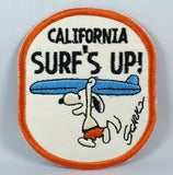 CALIFORNIA SURF'S UP PATCH