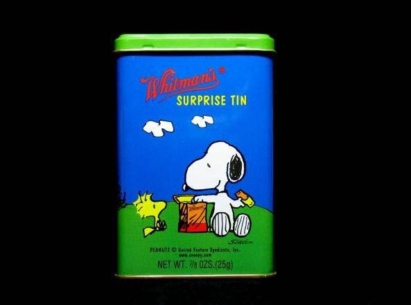 Peanuts Surprise Tin Canister - Eating Lunch