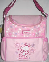 Snoopy Diaper Bag / Bottle Bag - Pink
