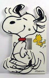Dancing Snoopy Switch Plate Cover