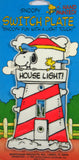 Snoopy Switch Plate Cover - Lighthouse
