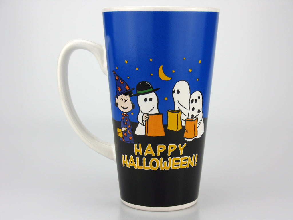 Peanuts Tall Ceramic Halloween Mug