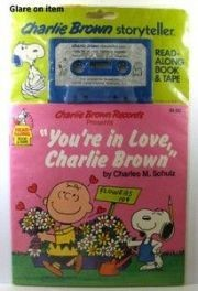 """You're in Love, Charlie Brown"" Book and Tape Set"
